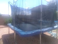 Excellent  condition , trampoline,safety nets ,   Peoria, 85381