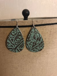 New leather earrings  Sand Springs, 74063