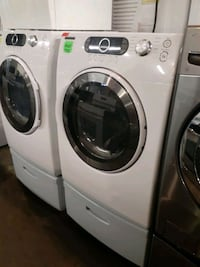 SAMSUNG front load electric dryer working perfectly 4 months warranty  Baltimore, 21223