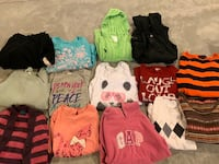 Lots of girls clothes size 12/14