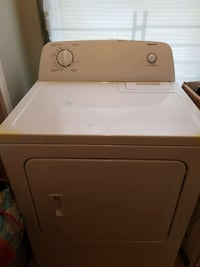 beige front load washer