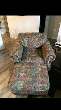 Great chair and ottoman