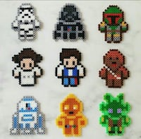 Hama beads Star Wars 6112 km