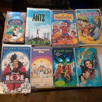 Kids VHS tapes Ladson