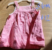 girl's pink and white dress Clear Brook, 22624