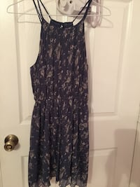 women's blue and gray floral spaghetti strap dress Port Saint Lucie, 34953