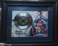 Iron Maiden aces high memoribilia