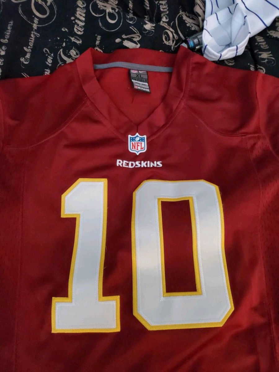 Used Nike RG3 jersey for sale in