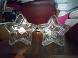 2 nice star dishes brand new