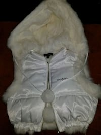 BeBe Rabbit Fur Vest