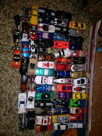 assorted plastic toy car collection Syracuse, 84075