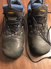 Keen Steel toe shoes