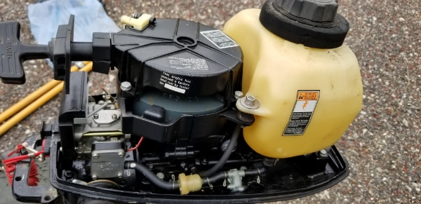 1998 4 hp Mercury Motor Model 98 ME4L
