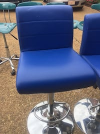 2 fairly new leather adjustable bar chairs Memphis, 38125