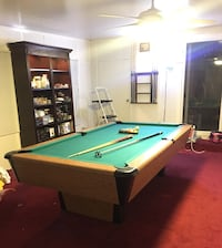 brown and green pool table Cypress, 90630