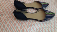 pair of black leather flats New Orleans, 70125