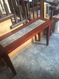 brown wooden console table Salmon Arm, V1E 2K3