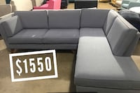 High quality Sectionals and sofas Mid century Modern style Carrollton