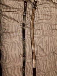 2 belts 45$ 1 bondage 1 studded made both  St. Catharines, L2M 4S1