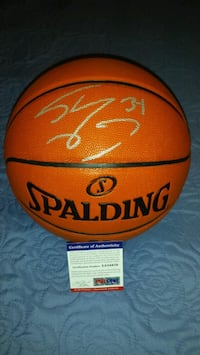 Shaquille O'Neil signed & authenticated basketball Toronto, M1L 2T3