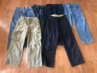 Boy's Jeans and Pants Lot (6) in great condition, Size 8 Manassas, 20112