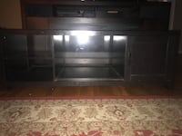 Brown wooden tv hutch  Alexandria, 22304