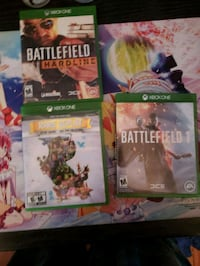 Xbox one games  South Gate, 90280