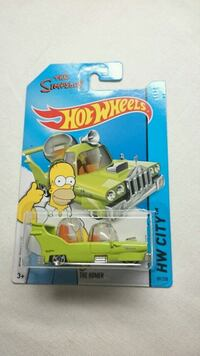 HOT WHEELS THE SIMPSONS THE HOMER DIECAST MINT Ontario, L4L 1V3