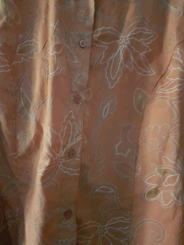 Orange with designs dress shirt  0b8448d9-69f1-4ac9-ad38-46f6d81a9ff6