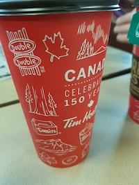 red Canada tumbler Sherwood Park, T8H