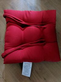 Blazing Needles Chair Cushions - Set of 4 - Red St. Catharines, L2N 4B2