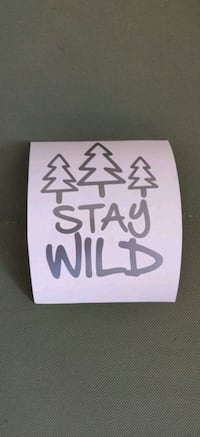 Stay Wild Sticker Decals