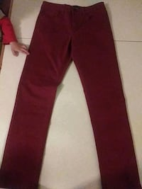 Hype pants red W28 L30 skiny straight  Las Cruces, 88001