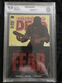 The Walking Dead issue 100. Sealed in CBCS