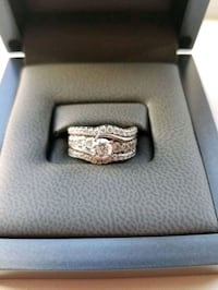 Tolkowsky engagement ring and wedding bands Newberg, 97132