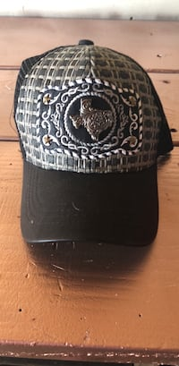 black and gray fitted cap Sacramento, 95842
