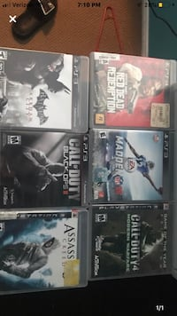 PS3 games  Palmdale, 93552