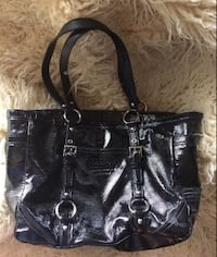 Coach Patent Leather Gallery Bag Canton, 44703