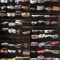 Tons of brand new leather wrap bracelets. 3 for $20 or $8 each