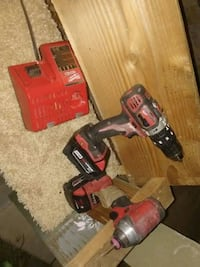 red and black Milwaukee cordless power drill San Diego, 92113