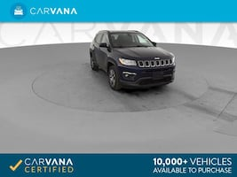 2017 Jeep Compass suv All New Latitude Sport Utility 4D Blue
