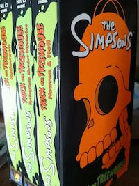 Simpsons trick or Treehouse VHS tapes Pittsford, 14534