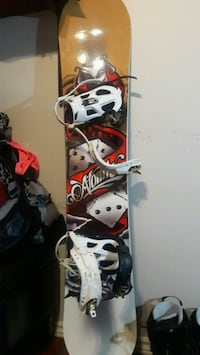 Snowboard,bindings,boots,snowpants,goggles