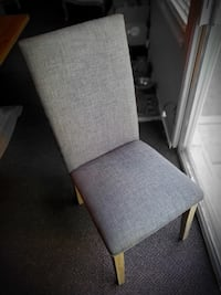 6 high-back Dining Chairs-great condition $25 each DENVER