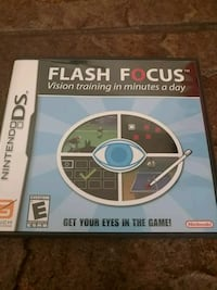 Nintendo ds game Flash Focus