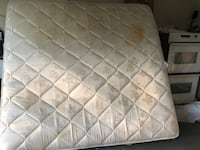 quilted white and gray floral mattress Loganville, 30052