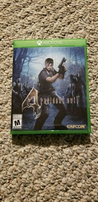 Selling Resident Evil 4 for Xbox One St. Albert, T8N 0J8