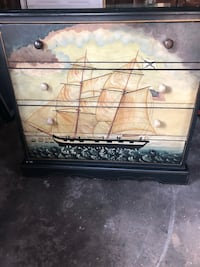 5 Drawer Hand Painted Sailboat Dresser Virginia Beach, 23451