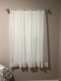 Curtains and Adjustable Curtain Rod Tampa, 33625