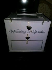 Wedding keep sake box with picture frame Maine, 13802